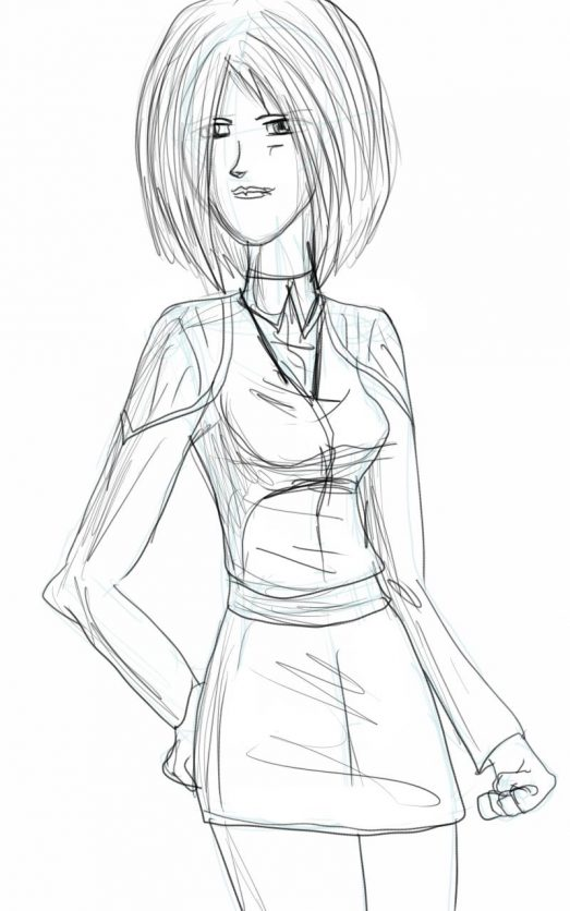 Daily Sketches: Janice Maty Concept
