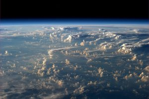 Clouds Cast Thousand Mile Shadows into Space