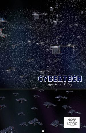 Cybertech Chapter 121 to 130 (V14) Digital Download