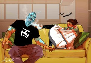 Artist Illustrates Everyday Life With His Wife In 10+ Comics