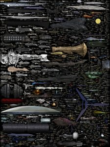 The Ultimate Sci Fi Starship Size Chart