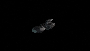 Animation Test – Terran Corvette