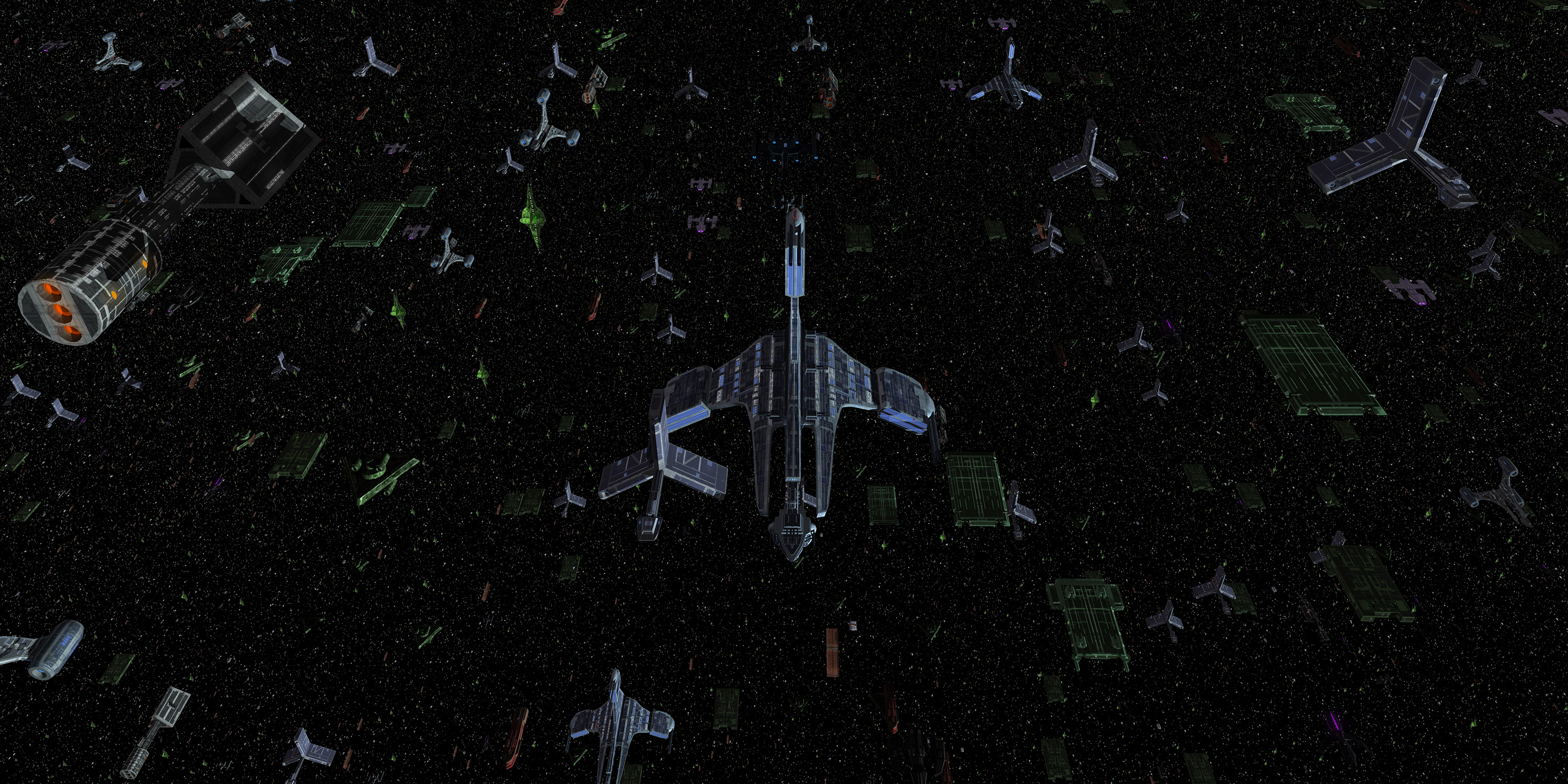 Milky Way Alliance Fleet Rendering