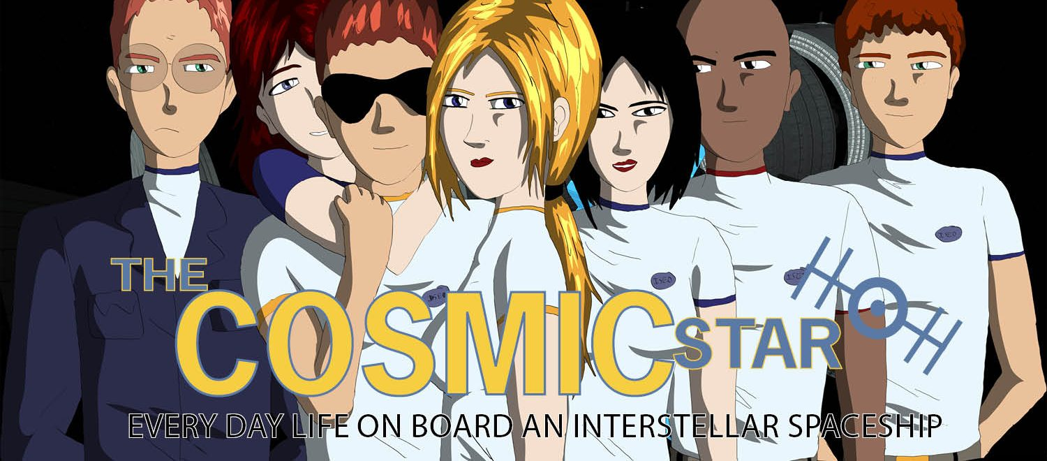 Can a hard science fiction goofy comedy work?