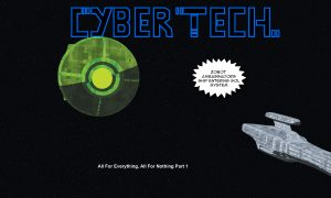 Cybertech Slideshow Comic Episode 1 on Youtube
